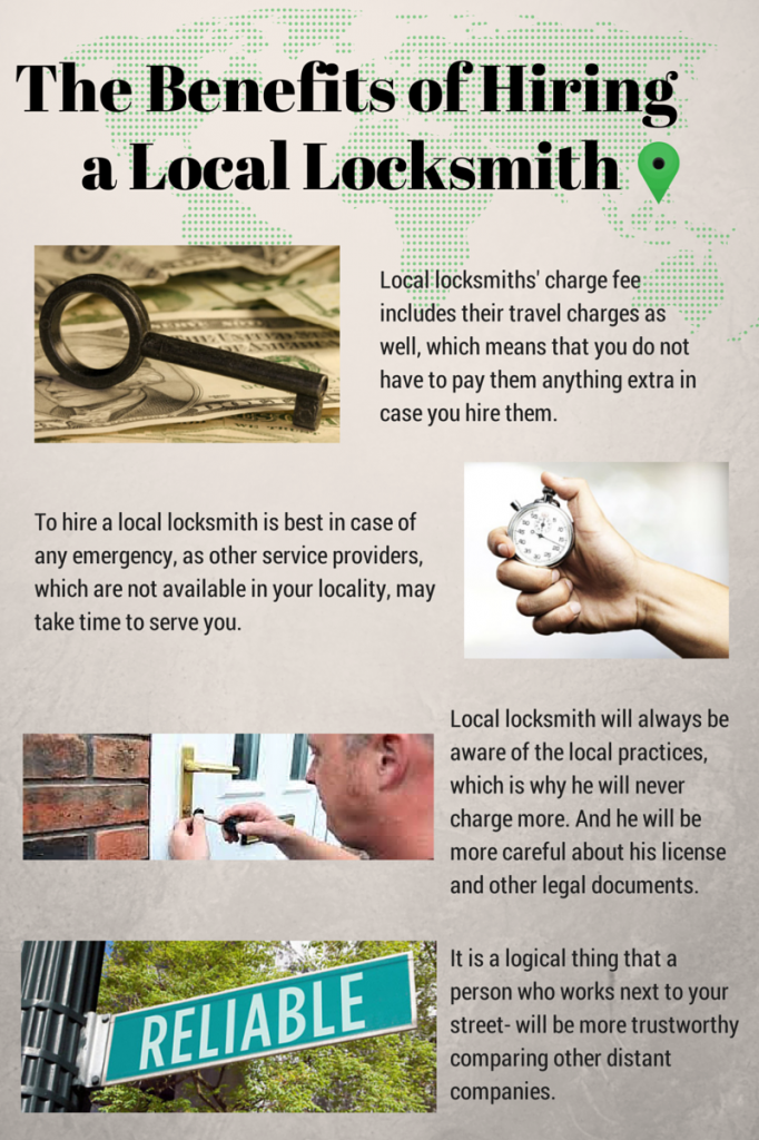 The Benefits of Hiring a Local Locksmith - Infographic